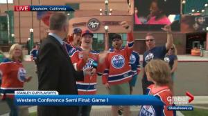 Excitement everywhere as Oilers' series against Ducks is set to start